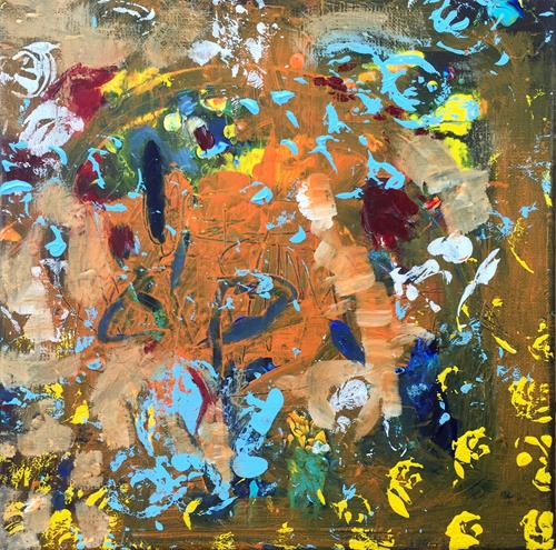Christel Haag, Oasis, Abstract art, Contemporary Art, Expressionism