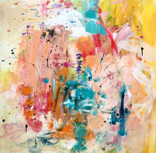Christel Haag, Sommertraum, Abstract art, Contemporary Art, Expressionism