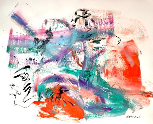 Christel Haag, Sweet Harmony, Abstract art, Contemporary Art, Expressionism