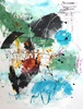 Christel Haag, Schmetterlinge im Bauch, Abstract art, Fantasy, Contemporary Art