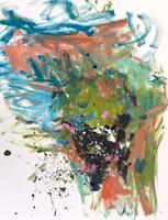Christel-Haag-Abstract-art-Modern-Age-Expressionism-Abstract-Expressionism