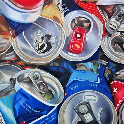 Susanne Wolf, ART OF RECYCLING, Still life, Industry  , Photo-Realism, Abstract Expressionism