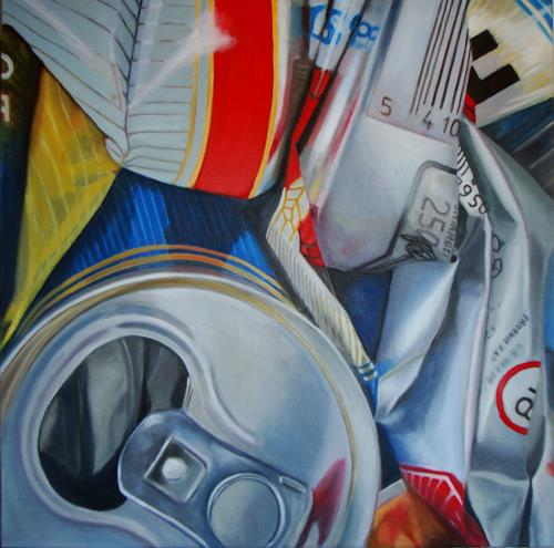 Susanne Wolf, ART OF RECYCLING, The world of work, Industry  , Photo-Realism