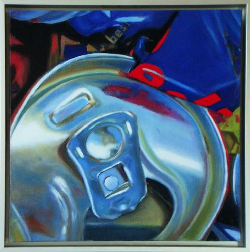 Susanne Wolf, Mini Art of Recycling, Society, Industry  , Photo-Realism