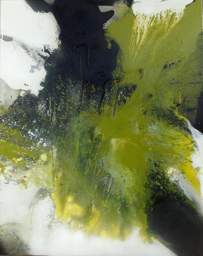 Christa Haack, Intensity II, Abstract art, Abstract art, Abstract Art