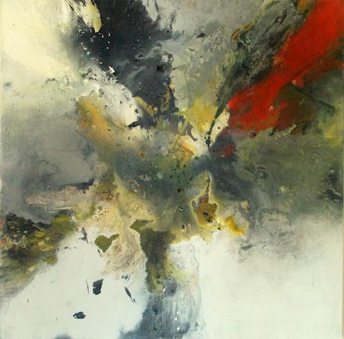 Christa Haack, Explosive II, Abstract art, Abstract art, Abstract Art, Abstract Expressionism