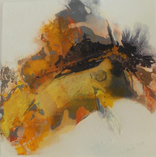 Christa Haack, Sunny Days 1, Abstract art, Abstract art, Abstract Expressionism, Expressionism