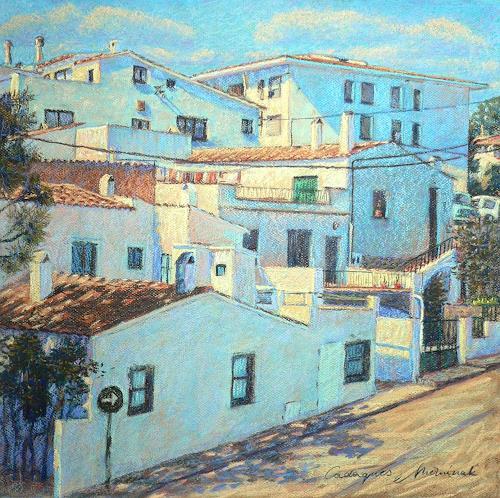 Richard Mierniczak, Cadaques (E), Architecture, Landscapes: Summer, Contemporary Art