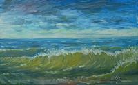 Richard-MIerniczak-Landscapes-Sea-Ocean-Modern-Age-Impressionism-Neo-Impressionism