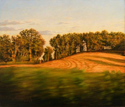Richard Mierniczak, On the road - South France, Landscapes: Summer, Plants: Trees, Contemporary Art, Expressionism