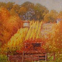 Richard-MIerniczak-Landscapes-Autumn-Nature-Earth-Modern-Age-Impressionism-Neo-Impressionism