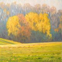 Richard-MIerniczak-Landscapes-Autumn-Nature-Wood-Modern-Age-Impressionism-Neo-Impressionism