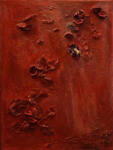 Barbara Zucker, Various Red, Plants: Flowers, Abstract Art