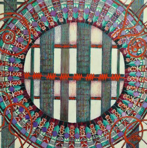Arthur Schneid, CERN 2 - Kontrolle und Widerstand, Abstract art, Technology, Contemporary Art