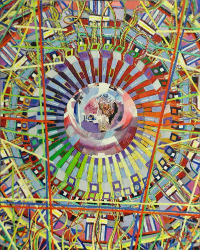 Arthur Schneid, CERN 4 - Die Kristallkugel der Wissenschaft, Technology, Miscellaneous, Contemporary Art