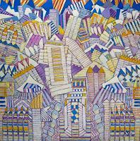 Arthur-Schneid-Buildings-Abstract-art-Contemporary-Art-Contemporary-Art