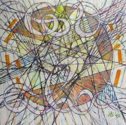 Arthur Schneid, BIG DATA - Cybermusik, War, Abstract art, Abstract Art, Expressionism