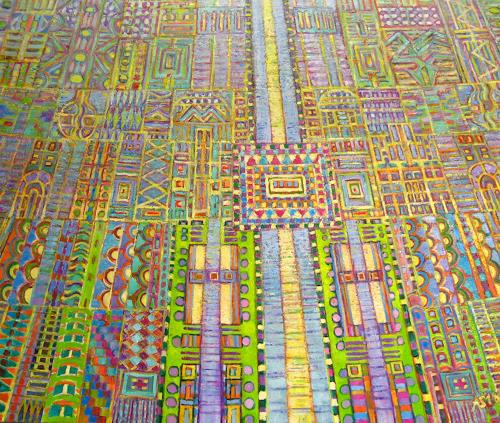 Arthur Schneid, BIG DATA - Der Platinengarten, Technology, Fantasy, Abstract Art