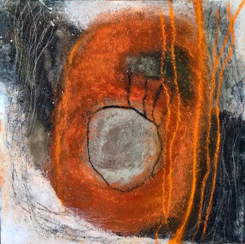 Eva Vogt, Die Linie 3, Abstract art, Abstract Art, Abstract Expressionism