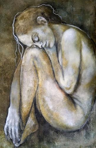 Eva Vogt, Embryonal, People: Women, Contemporary Art