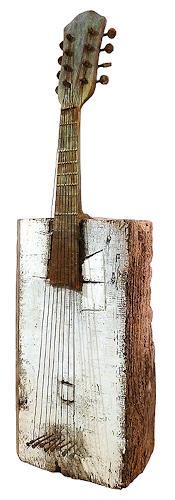 Raúl López García, Bandoleño, Music: Instruments, Abstract art, Art Brut