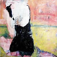 Mila-Plaickner-Nude-Erotic-motifs-People-Women-Modern-Age-Expressive-Realism