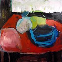 Mila-Plaickner-Still-life-Decorative-Art-Modern-Age-Expressionism