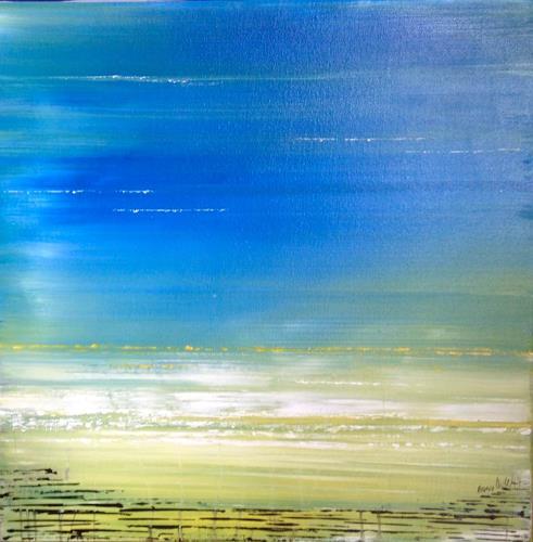 Beatrix Schibl, Summerfeeling, Nature, Modern Age, Expressionism