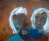 Beatrix-Schibl-Emotions-Fear-People-Faces-Modern-Age-Expressionism