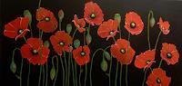 Beatrix-Schibl-Plants-Flowers-Plants-Flowers-Modern-Age-Expressive-Realism
