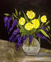 Beatrix-Schibl-Plants-Plants-Flowers-Modern-Age-Expressive-Realism