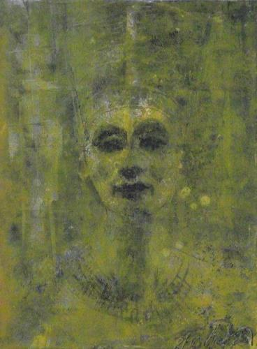 Hans-Dieter Ilge, N., People: Portraits, History, Contemporary Art, Expressionism