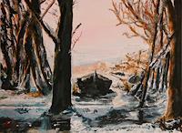 Hans-Dieter-Ilge-Landscapes-Sea-Ocean-Landscapes-Winter-Contemporary-Art-Contemporary-Art