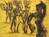 Hans-Dieter-Ilge-Nude-Erotic-motifs-Fantasy-Modern-Age-Modern-Age