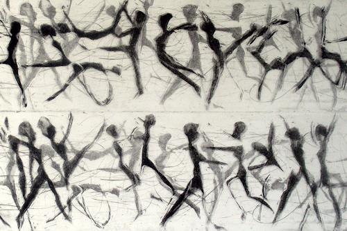Hans-Dieter Ilge, Lebenslust, Sports, People: Group, Contemporary Art