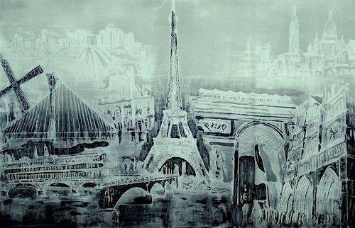 Hans-Dieter Ilge, Paris!, Miscellaneous Buildings, Architecture, Contemporary Art
