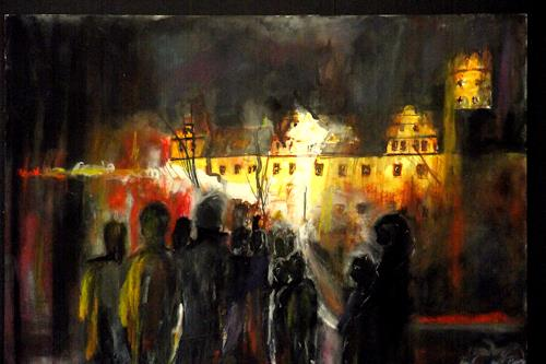 Hans-Dieter Ilge, Zum Weihnachtsschloss, Miscellaneous People, Miscellaneous Buildings, Expressive Realism, Abstract Expressionism