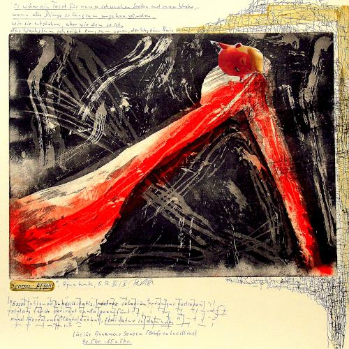 Hans-Dieter Ilge, Seneca Effect II, Burlesque, Miscellaneous People, Expressive Realism, Abstract Expressionism