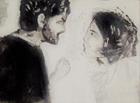 Hans-Dieter-Ilge-People-Couples-Emotions-Aggression-Contemporary-Art-Contemporary-Art