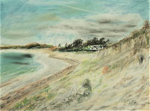 Hans-Dieter Ilge, Bretagne, Landscapes: Beaches, Contemporary Art
