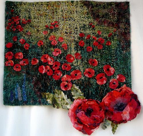 Tanja Röttger, N/T, Plants: Flowers, Modern Age, Expressionism