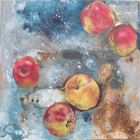 P. Gottstein, Äpfel schweben 3