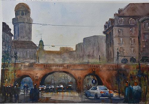 Milos Petkovic, Urania, Interiors: Cities, Impressionism