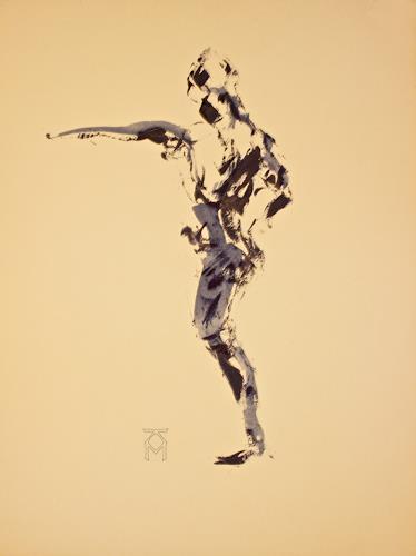 Martin Künne, Tanz 74, People: Men, Movement, Abstract Expressionism