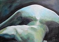 Martin-Kuenne-Erotic-motifs-Female-nudes-Landscapes-Hills
