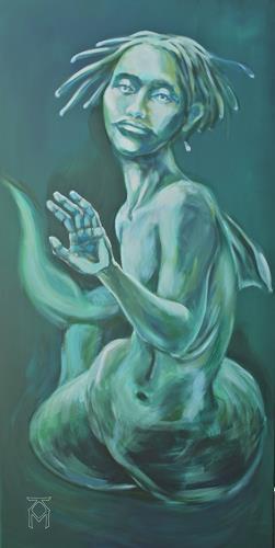 Martin Künne, Mareen, Mythology, People: Women, Abstract Expressionism