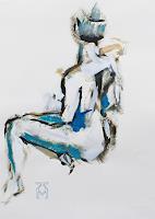 Martin-Kuenne-People-Women-Erotic-motifs-Female-nudes-Modern-Age-Expressionism