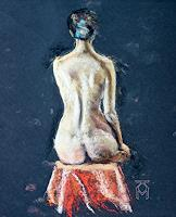 Martin-Kuenne-People-Women-Erotic-motifs-Female-nudes-Contemporary-Art-Contemporary-Art