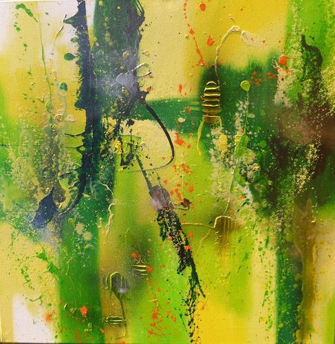 Sandra Dürr, jungle fever, Abstract art