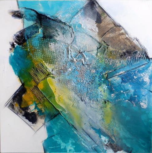 Sandra Dürr, bluesails, Abstract art